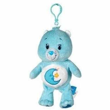 Baby blauwe troetelbeer slaapbeertje tashanger knuffel