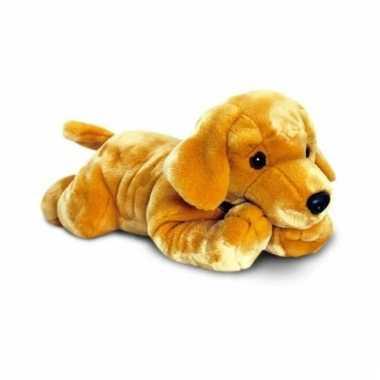 Baby blonde labrador puppy knuffel
