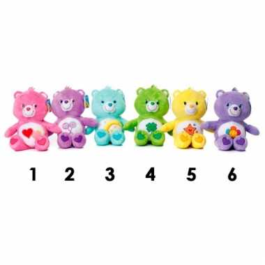 Baby care bears roze knuffelbeer