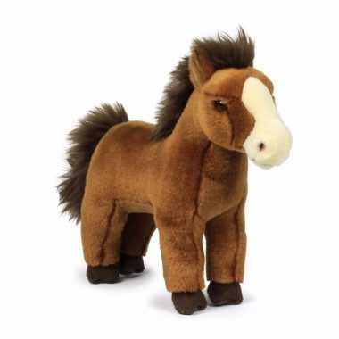 Baby donkerbruine paarden knuffels