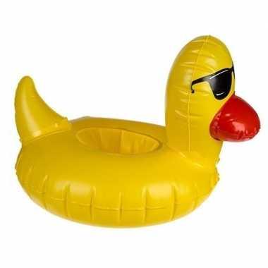 Baby eenden opblaas zwemband poppen/knuffels
