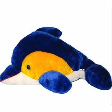 Baby  Geel blauwe dolfijn knuffel