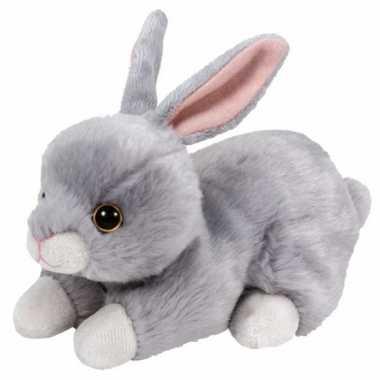 Baby  Grijs pluche Ty Boo konijn knuffel