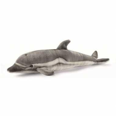 Baby grijze knuffel dolfijnen pluche