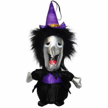 Baby  Halloween pluche heks pop knuffel