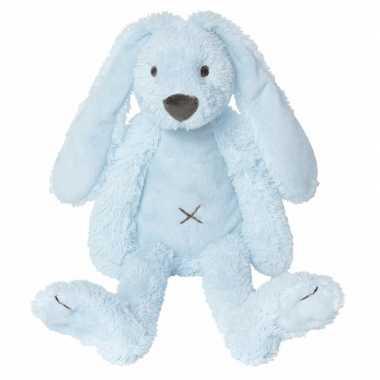 Baby  Happy Horse knuffel konijn blauw