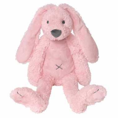 Baby  Happy Horse knuffel konijn roze