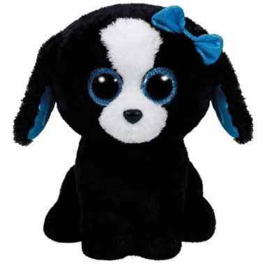 Baby hond/puppy knuffels tracey ty beanie