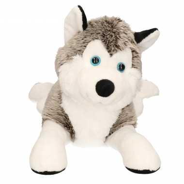 Baby hondenknuffel husky 10038846