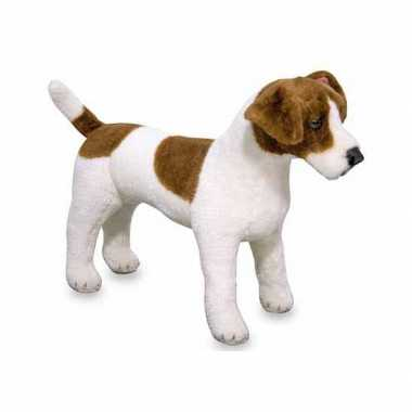 Baby jack russell terrier knuffel