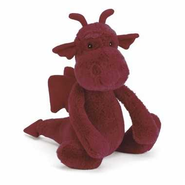 Baby jellycat kuffel draak knuffel