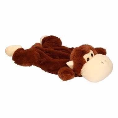 Baby kinderkruik bruine aap knuffel