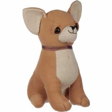 Baby knuffel chihuahua hondje deurstoppers/deurwiggen