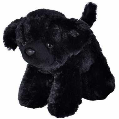 Baby knuffel honden zwarte labrador