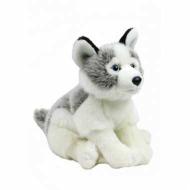 Baby knuffel husky hond