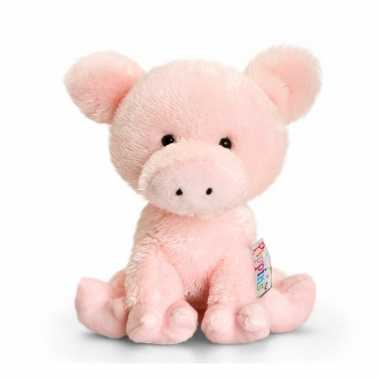 Baby  Knuffel varken roze