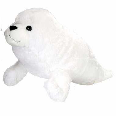 Baby  Knuffel zeehond wit