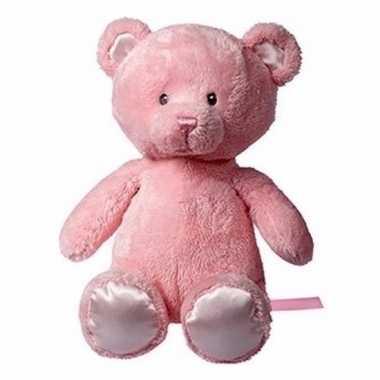Baby knuffeldier jette roze beertje