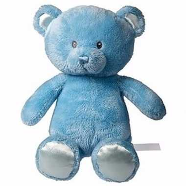 Baby knuffeldier julian blauw beertje