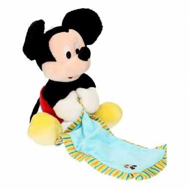 Baby knuffeldoek mickey mouse