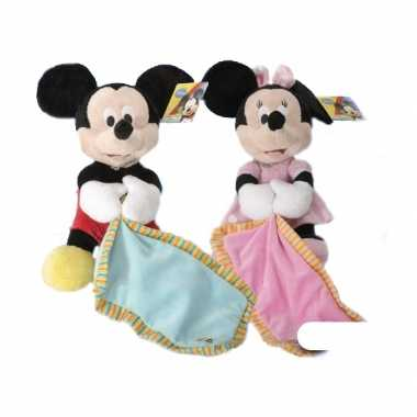 Baby  Knuffeldoek Minnie Mouse