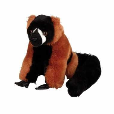 Baby  Lemur knuffeldier aap rood