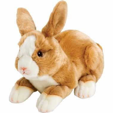 Baby lichtbruin knuffel konijntje/haasje