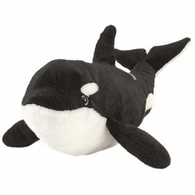 Baby  Orka knuffels zwart wit