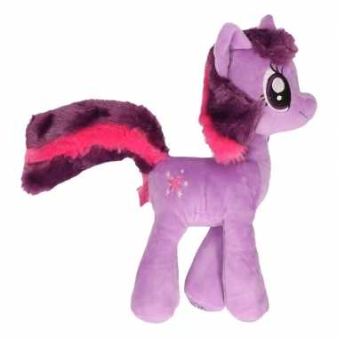Baby paarden knuffel my little pony paars