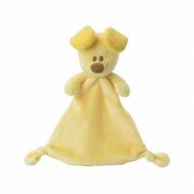 Baby pip tutteldoekje geel knuffel
