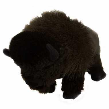 Baby pluche bizon knuffel