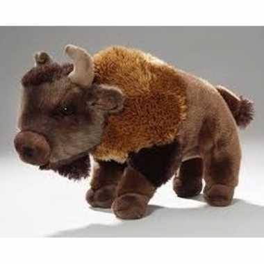 Baby pluche bizon knuffeldier