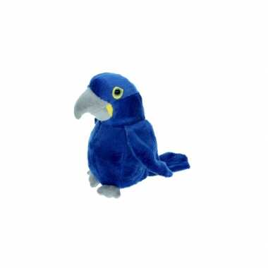Baby  Pluche blauwe ara knuffels