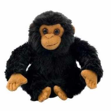 Baby pluche chimpansee knuffel 10040478