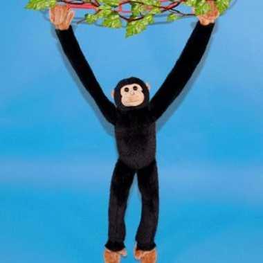 Baby pluche chimpansee knuffel