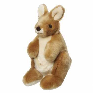 Baby  Pluche kangoeroe knuffel
