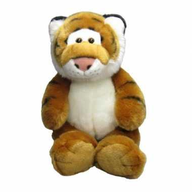 Baby  Pluche knuffel tijger zittend