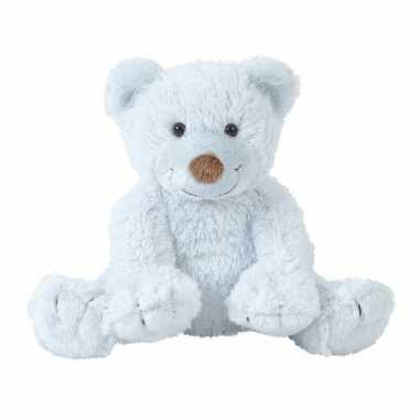 Baby pluche knuffels zachtblauw beertje boogy