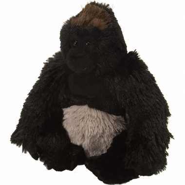 Baby pluche knuffeltje gorilla zwart