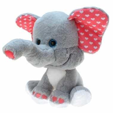 Baby pluche olifanten knuffel