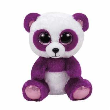 Baby pluche panda knuffels boom boom ty beanie