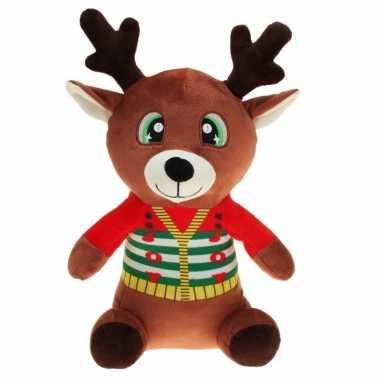 Baby pluche rendier knuffel kerstknuffels