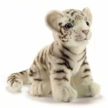 Baby  Pluche witte tijger knuffel