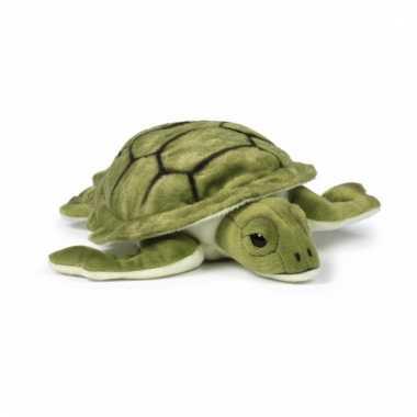Baby pluche zee schildpad knuffel