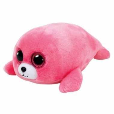 Baby pluche zeehond knuffels pierre ty beanie
