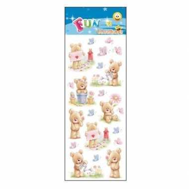 Baby poezie album stickers knuffelberen