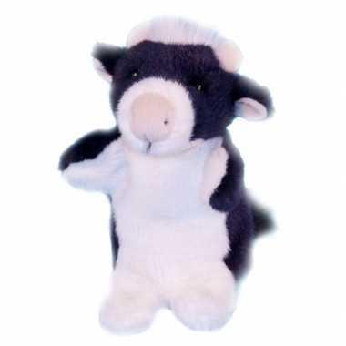 Baby  Poppenkast pop koe knuffel