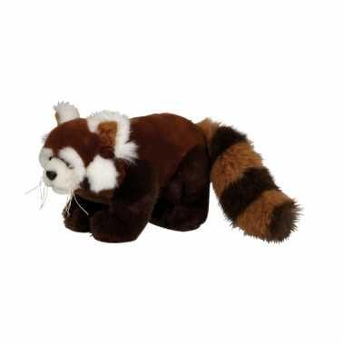 Baby  Rode panda knuffel