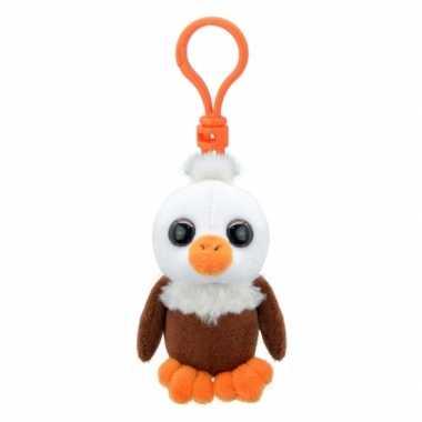 Baby speelgoed adelaar sleutelhanger knuffel