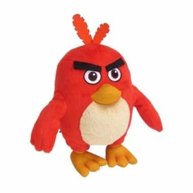 Baby speelgoed angry birds knuffels rood